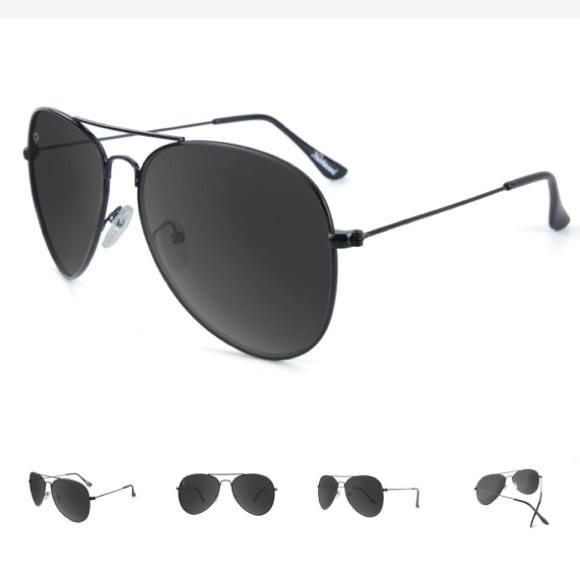 eb2b79827 knockaround Accessories | Black Aviator Sunglasses Polarized | Poshmark